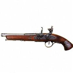 Пистолет кремниевый, Франция, ХVIII век, Denix 1127G