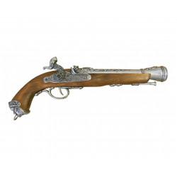 Пистолет кремниевый,18век, Италия D-1104