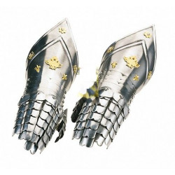 Перчатки рыцарские с гравировкой Marto 943