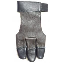 Перчатка для стрельбы из лука Детская Кожаная XXS